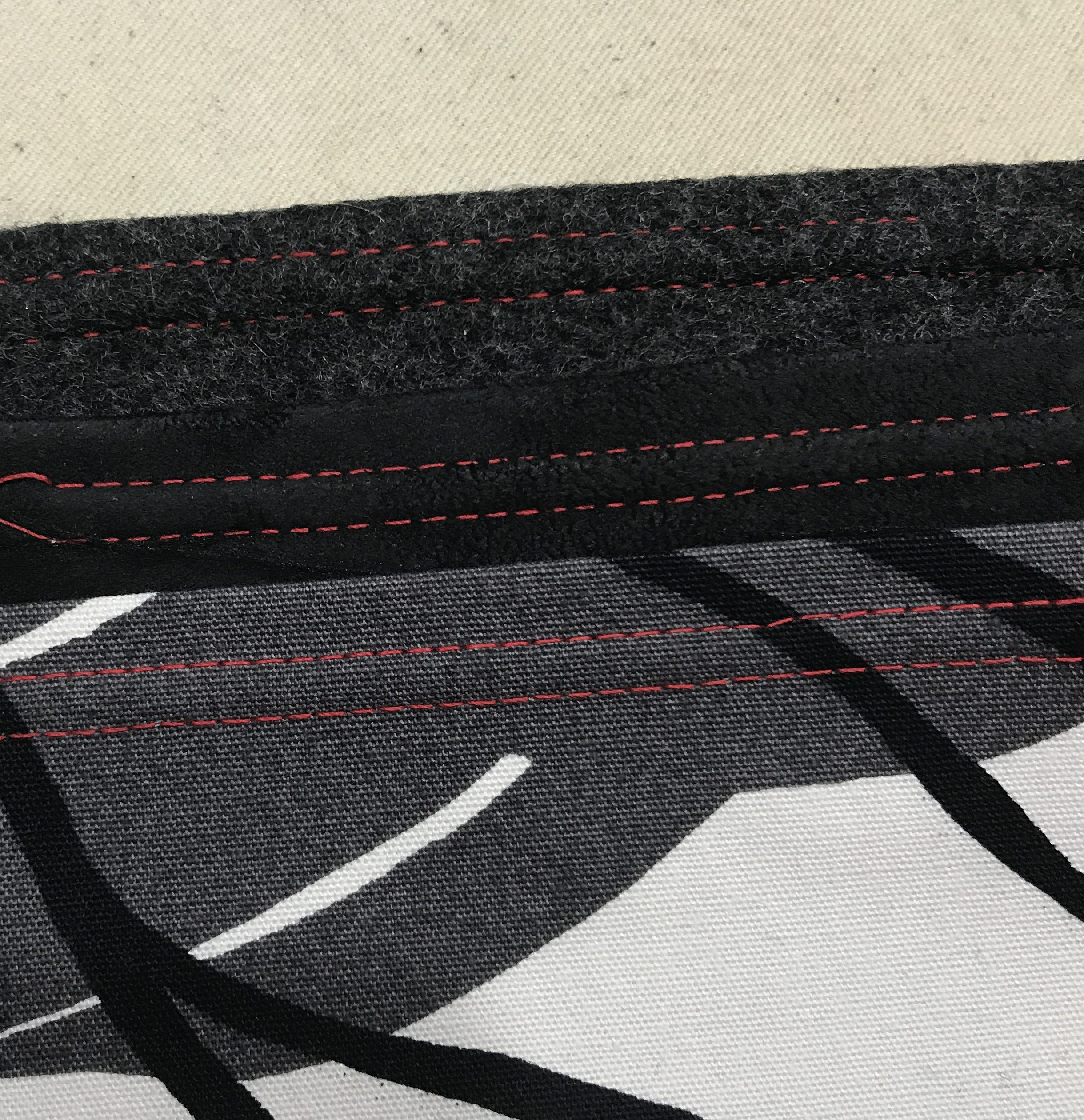 What's What: Top-, Edge-, and Under-stitching