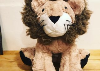 Larry the Lion — sewing plush stuffed animals