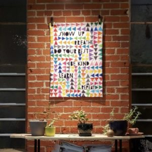 """My """"Show Up"""" quilt"""