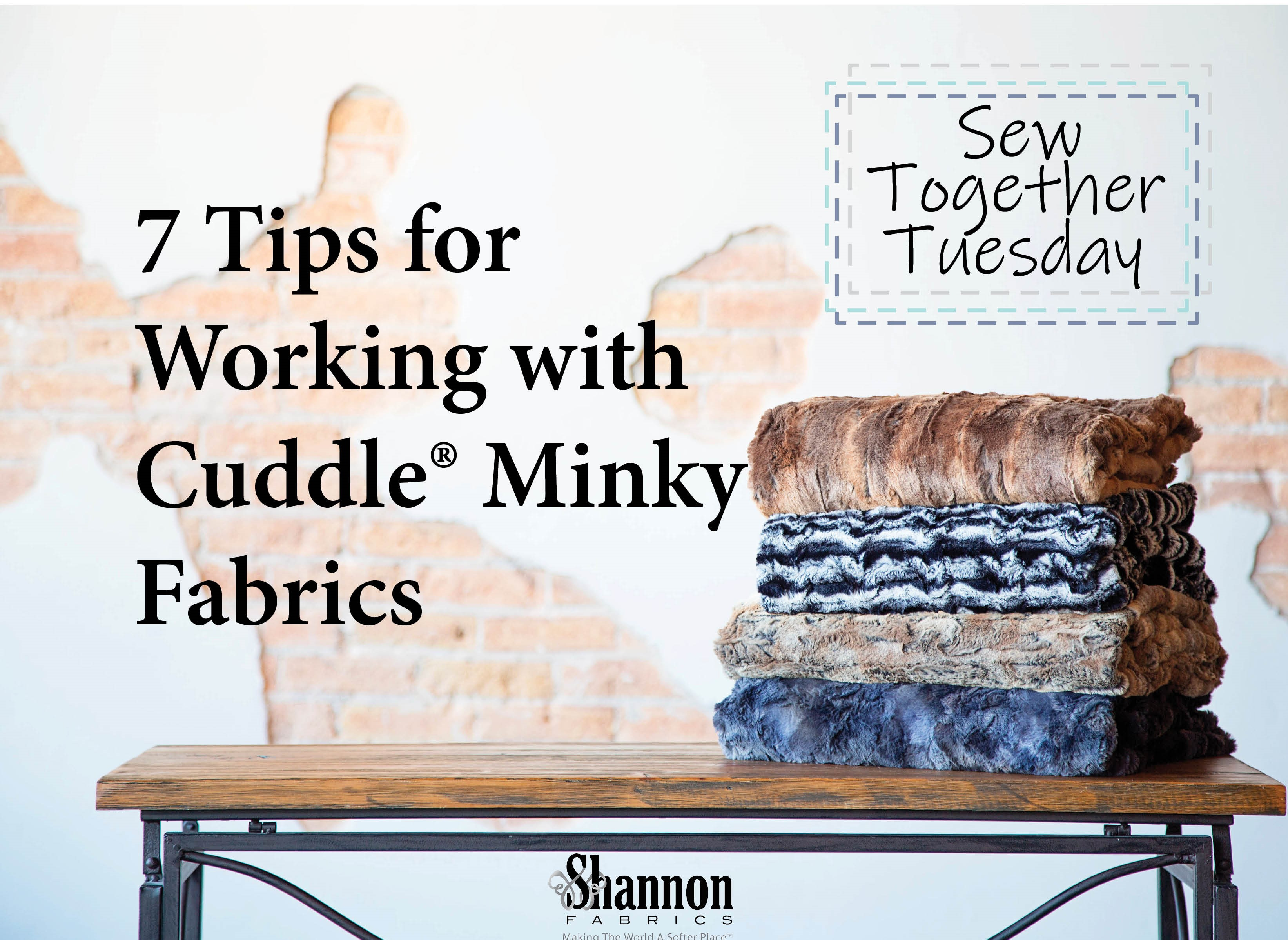 7 Tips for Sewing with Cuddle Minky
