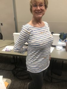 Knit tee shirt class at Road2CA