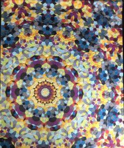 Gail Weiss Kaleidoscope quilt