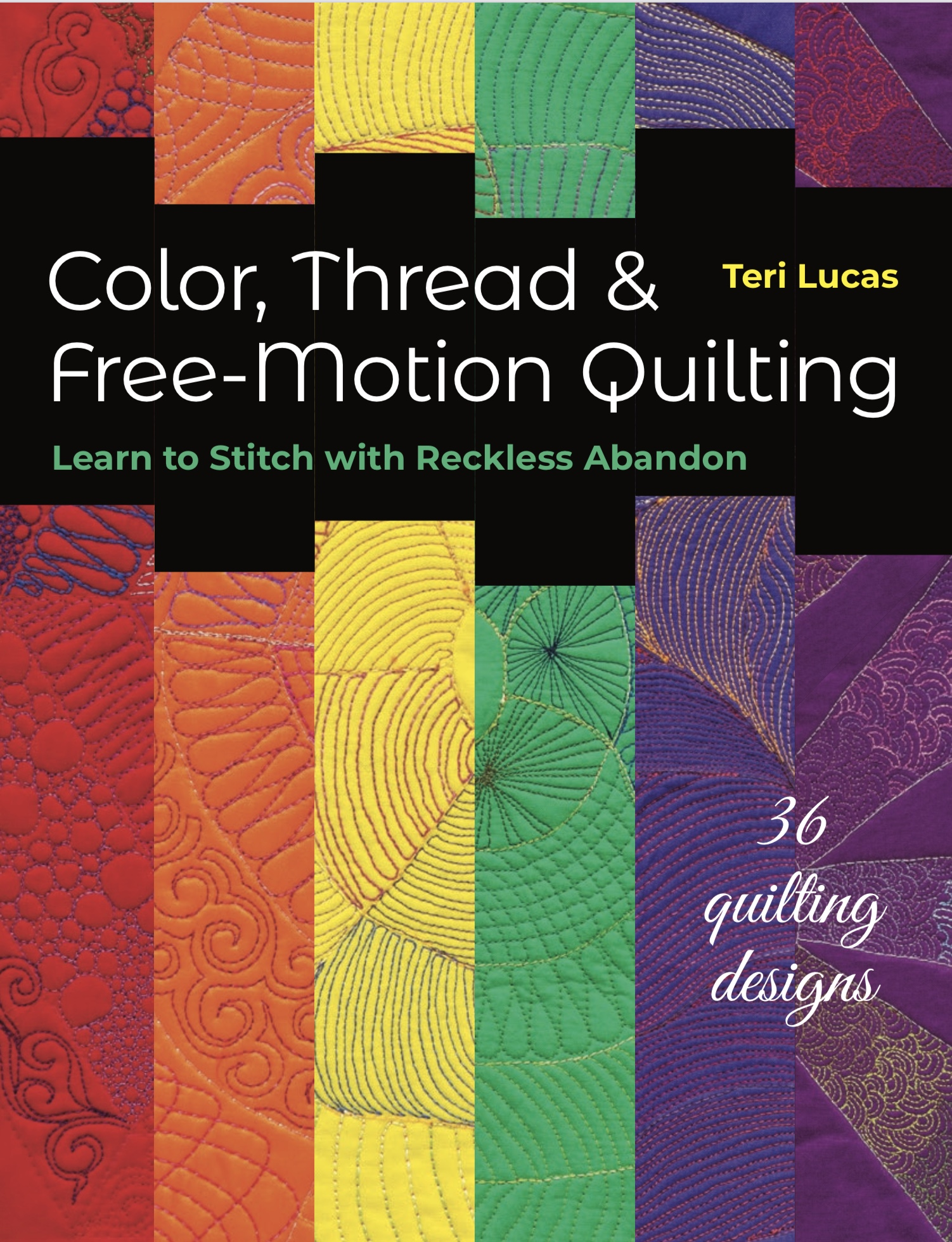 Color, Thread & Free-Motion Quilting {book review}