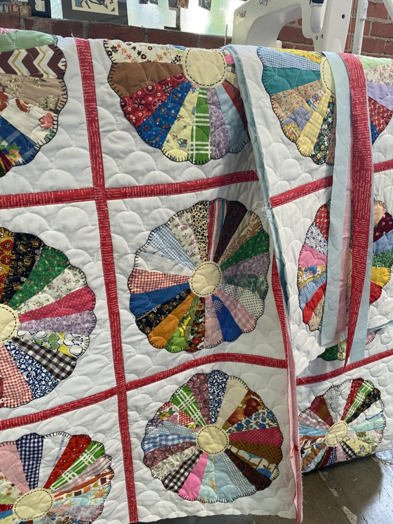A loved, but not particularly lovely, quilt gets a rebuild.